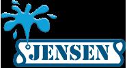 Jensen Läcksökning Logotyp